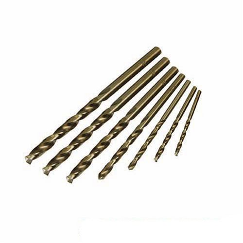 Silverline 598435 Kobaltbohrer, 7-tlg. Satz 1,5–6 mm