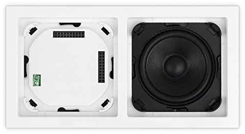 TechniSat DIGITRADIO UP1 Unterputz-Radio zur Anbringung in jeder Doppel-Unterputz-Dose, weiß