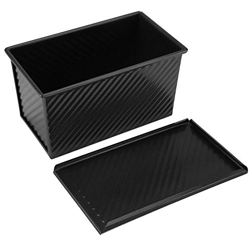 Toast Mold – Loaf Pan with Lid Bread Toast Mold Non Stick Toast Box Bread Cake Bakeware Pans