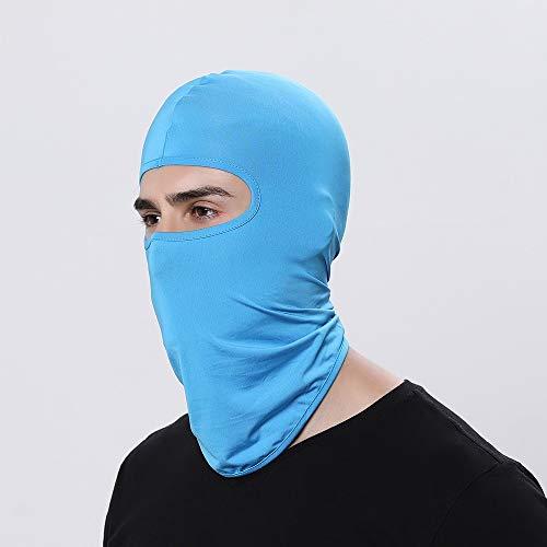 Winddicht Motorrad-Sturmhauben Vollgesichtsmaske Warmer Winddicht atmungsaktiv Airsoft Paintball Radfahren Ski Schild Anti-UV-Männer-Hüte Helm Balaclava Face Mask Ski-Maske