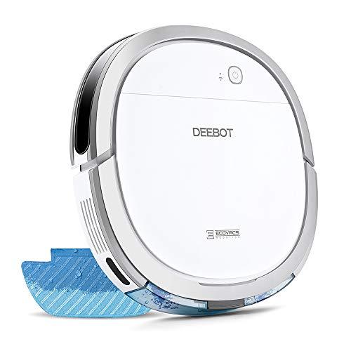 【細菌除去率99%】エコバックス ECOVACS DEEBOT OZMO Slim11 床拭きロボット掃除機 フローリング掃除 畳掃除 超薄型 水拭き対応 モップ付け 自動拭き掃除 Alexa対応 スマホ連動 2年保証