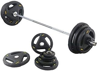 FitElite(フィットエリート) オリンピック・バーベルシャフト (全長:183cm: ショートタイプ) ご家庭でのスクワット・ベンチプレス用。