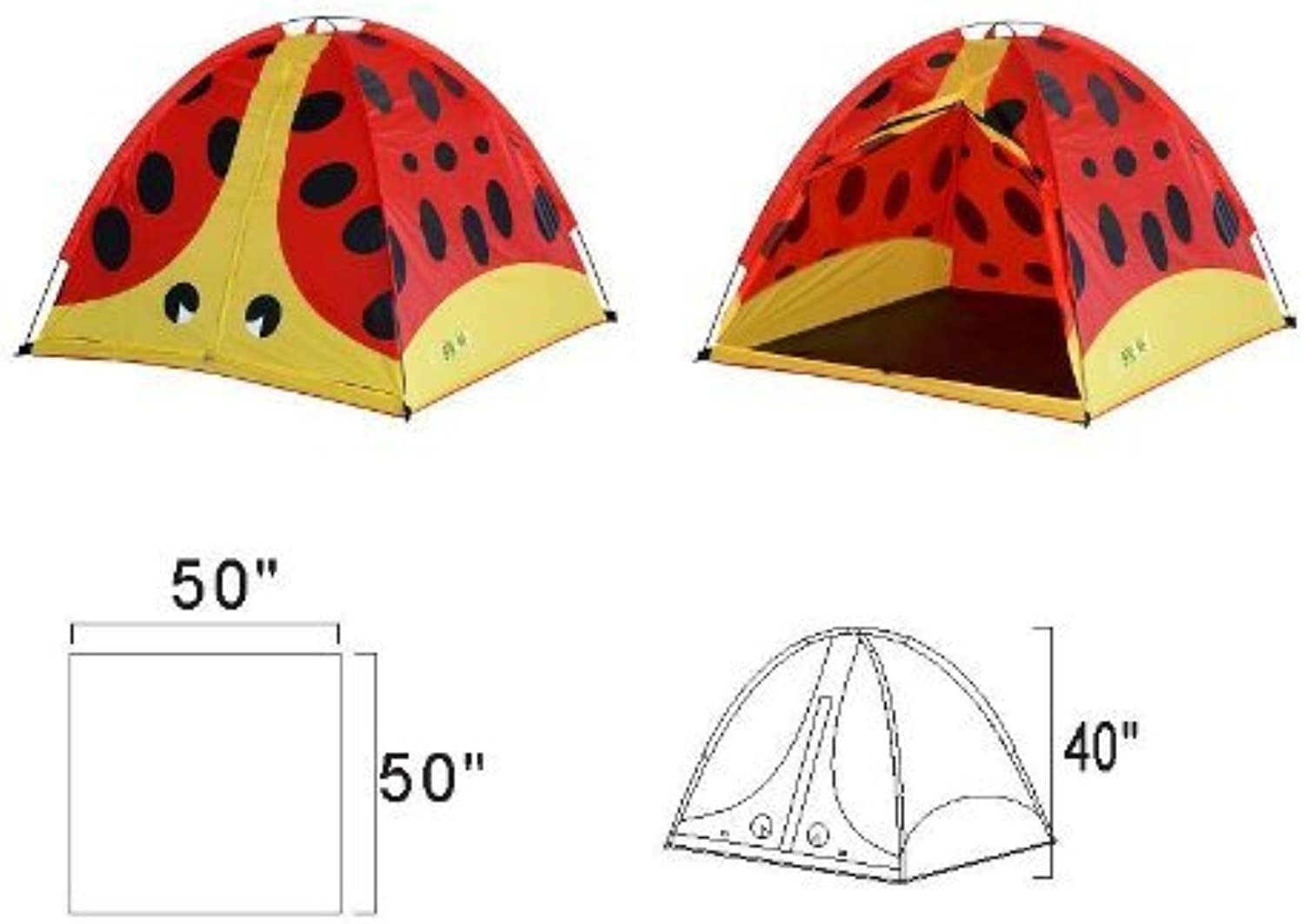 Giga Tent Baxter Beetle Play Tent by Gig a Tent [Toy]