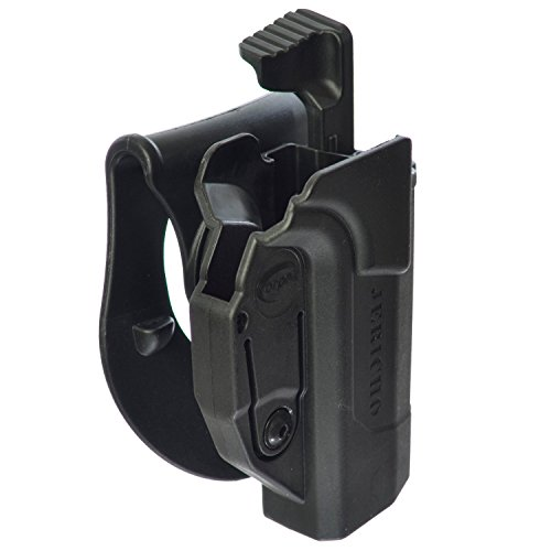 Orpaz Defense Level 2 Retention Tactical Thmub Release Safety Holster, Tention Adjustment, Rotating 360 ROTO Paddle for Jericho 941 9mm or .40 S&W