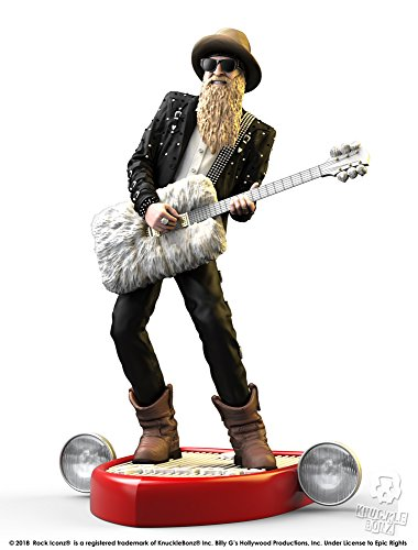 Knucklebonz Billy Gibbons of ZZ Top Limited Edition Collectible Statue - Rock Iconz, Officially Licensed, Includes CoA