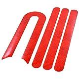 myBESTscooter - Pegatinas Reflectantes para Las Ruedas Delantera y Trasera para los Modelos M365 y Pro del Patinete eléctrico Xiaomi