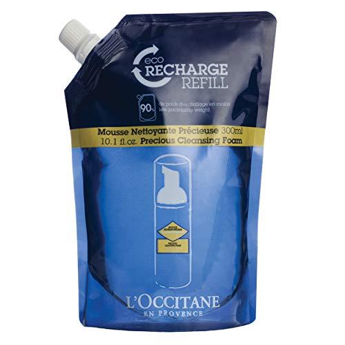 L'Occitane Face Cleansing Foam Refill Pack, 10.1 Fl Oz
