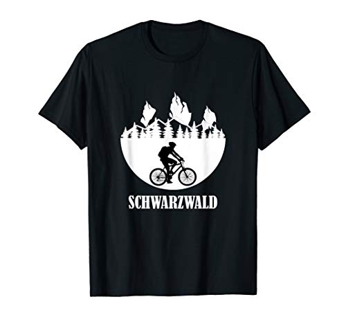 Schwarzwald - Natur Fahrrad fahren Wandern Outdoor T-Shirt