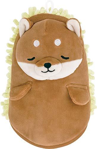 りぶはあと ミトンモップ プレミアムねむねむお掃除グッズ 柴犬のコタロウ Mサイズ (全長約30cm) かわいい 洗える 78484-44