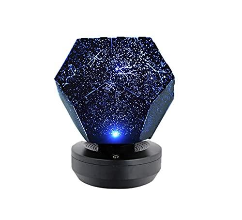 LELEBEAR Nova Stars Original Home Planetarium, 60,000 Stars Romantic 3 Colours Adjustable Starry Night Lamp (Plug-in)