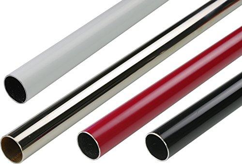 Gardinenstange, Stilrohr 20 mm ø | L 160 cm | rot-Hochglanz