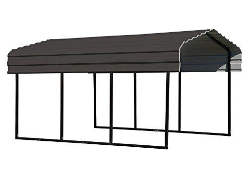 ShelterLogic Stahlcarport, Unterstand, Autogarage Venedig // 465x305x250 (LxBxH) // Carport für Alles