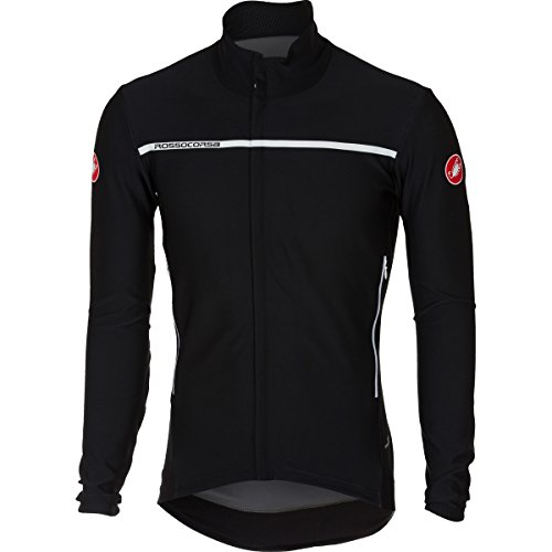Castelli ' Chaqueta de Hombre, Perfetto Long Sleeve Jacket, Negro Claro
