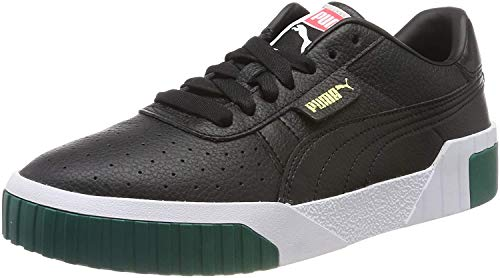 PUMA Damen Cali WN's Turnschuh, Black-Teal Green, 37 EU