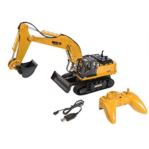 Vobery 1:16 RC Truck 11CH Fernbedienung Bagger Traktor Simulation Konstruktionsspielzeug