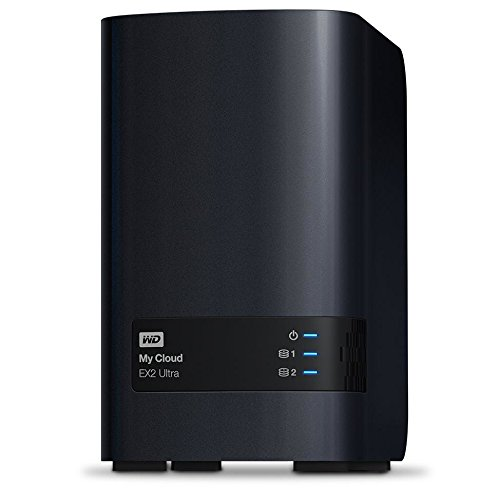 WD 20TB My Cloud EX2 Ultra Network Attached Storage - NAS - WDBVBZ0200JCH-NESN