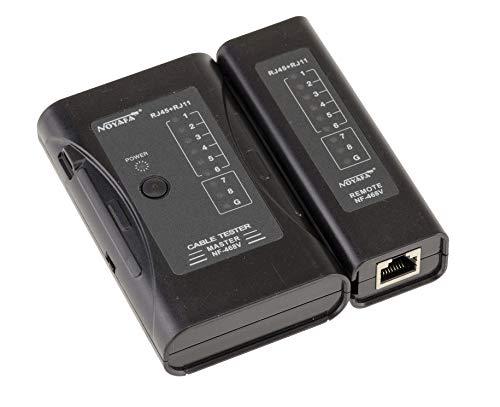 Kabel Tester für RJ45 CAT5 RJ11 RJ12 ISDN LAN DSL Netzwerk Testgerät Kabeltester. USB Powered