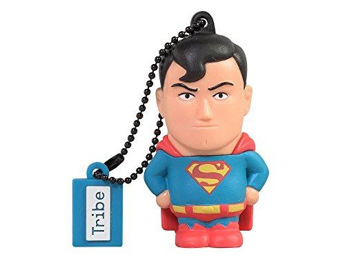Tribe Warner Bros DC Comics Superman USB Stick 16GB Speicherstick 2.0 High Speed Pendrive Memory Stick Flash...