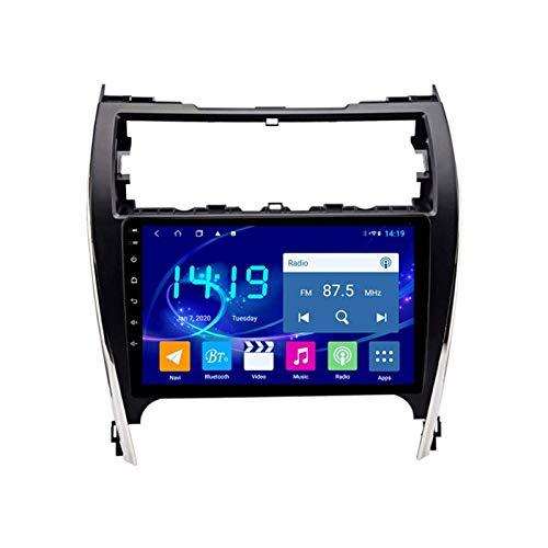 Coche Radio Video Estéreo Para Toyota Camry 2012-2014 Auto Head Unit Touch Pantalla Táctil Multimedia Player SAT NAV Soporte Wifi Espejo Enlace Bluetooth Manos Libres Llamada,4 core 4g+wifi: 1+16gb