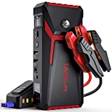 Best Jump Starters - TACKLIFE T8-Newer Model 800A Peak 18000mAh Car Jump Review