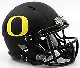 Riddell NCAA Oregon Ducks Helmet Mini SpeedHelmet Replica Mini Speed Style Matte Black, Team Colors, One Size