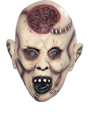 ZOMBIE AUTOPSY HORROR MASK PROP HALLOWEEN UNISEX UNDEAD FANCY DRESS ACCESSORY#Autopsy Zombie Mask
