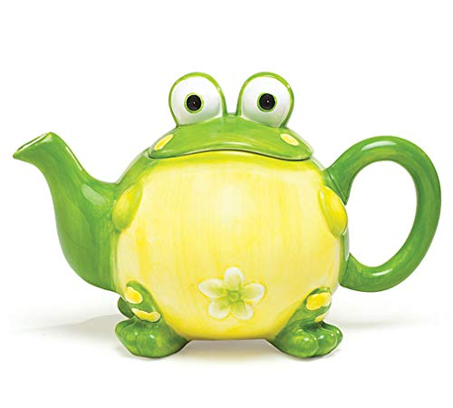 Adorable Frog Animal Themed Teapots