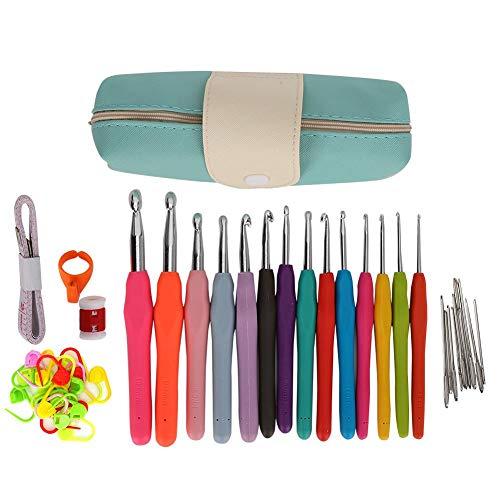 Kit de ganchillo, juego de agujas de ganchillo, kit de inicio de ganchillo duradero para coser tejer