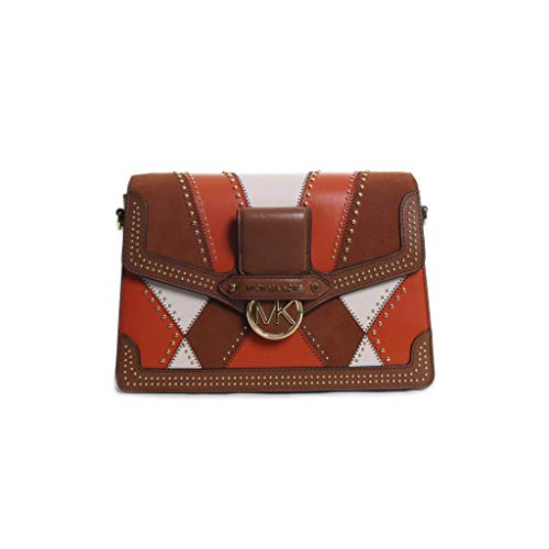 """Fabric: 100% leather Gold-tone hardware 10.5""""W X 7""""H X 3.5""""D Style Number: 30F9GI6L7L Imported"""