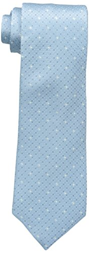 Kenneth Cole REACTION Men's Multi Dot Tie, Teal, One Size