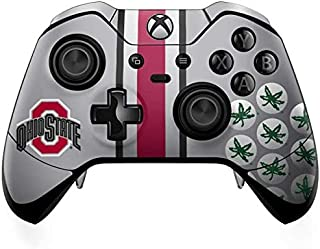 Skinit Decal Gaming Skin Compatible with Xbox One Elite Controller - Officially Licensed Ohio State University Ohio State ...