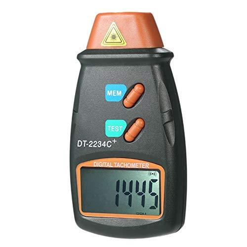 YISUNF Digital Tachometer Digitale Tachometer RPM Meter-berührungs 2.5Rpm-99999Rpm LCD Display Speed Meter...