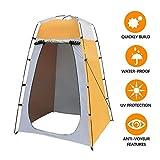 Pop Up Tente de confidentialité, Toilette de camp de douche extérieure portable instantanée, Abri de pluie...