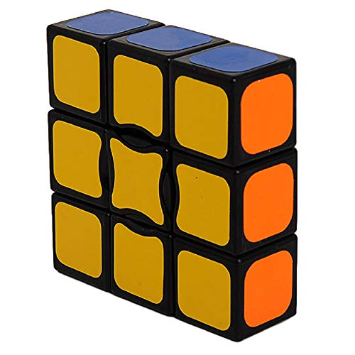 GoodCube New Black 1x3x3 Magic Cube Floppy 1x3x3 Magic Cube Black Spuer 133 Speed Cube