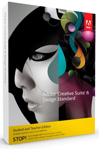 Adobe Creative Suite 6 Design Standard Student and Teacher englisch MAC