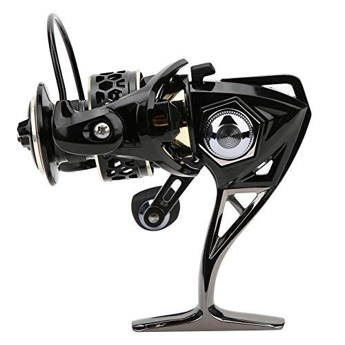 Alomejor Angelrolle Rechts Links Austauschbar Casting Spinning Fishing Wheel Für Salzwasserfisch Köder Eisfischen(GTS 4000)