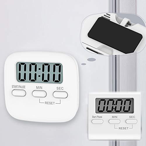Student Timer Kitchen Gadgets Magnetic Timer Count UP wekker herinnering LCD Digital Kitchen Countdown Koken Gereedschap