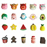 20 Pcs Cable Protector for iPhone/ipad USB Cable, Plastic Cable Protectors Cute Drink Fruit Dinosaur Animals Charging Cable Saver, Phone Accessory Protect USB Charger (Type B(20PCS))
