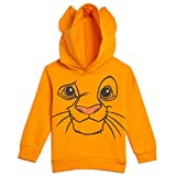 Disney The Lion King Simba Toddler Boys Pullover Fleece Costume Hoodie 3T Orange