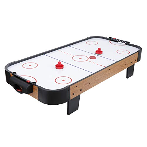 LEMY 40-Inch Electric Motor Fan Air Hockey Table with 2 Strikers and 2 Pucks for Kids and Adults Portable Indoor&Outdoor Game for Family,...