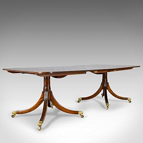 London feiner Antiquitäten Sechs bis acht Sitz, ausziehbarer Esstisch in Regency Geschmack, Mahagoni, c20th