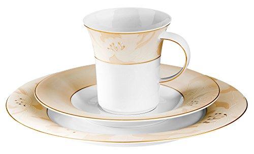 Kaffeegedeck 3-tlg. N Jade 3910 Treviso von Königlich Tettau