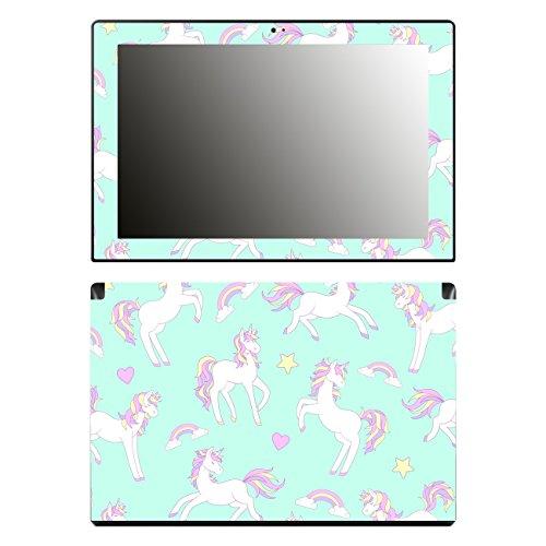 'Disagu SF 106492_ 1108Designer Skin Case Cover For Lenovo miix 31030–Unicorn Pattern 01Clear