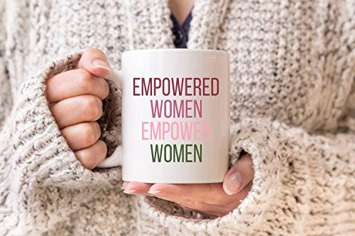 Lplpol Kaffeetasse Empowered Women Empower Women Tasse, Ruth Bader Ginsburg Kaffeetasse, Notorious RBG, Feministische Tasse, RBG Tasse, personalisierbar, 325 ml