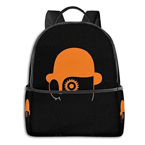 Clockwork Orange Cult 70s Movie Laptop Backpack Fashion Theme School Backpack