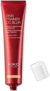 KIKO MILANO - Skin Trainer Cc Blur   3-in-1 Face Cream Foundation & Concealer - Hydrating Optical Corrector that Evens Complexion,Skin Tone for Radiant Skin   Av.In 4 Colors   1.01oz (Neutral)