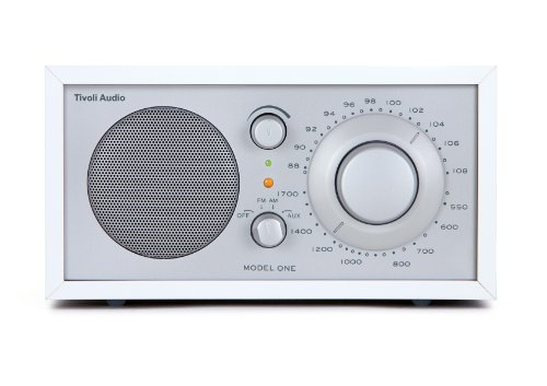 Tivoli Audio Model One UKW/Mono Transistorradio weiß/silber