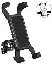 自転車ホルダー スマホ ホルダー 360度回転 自転車携帯電話ホルダー 4-6インチのスマホに対応 GPSナビ固定