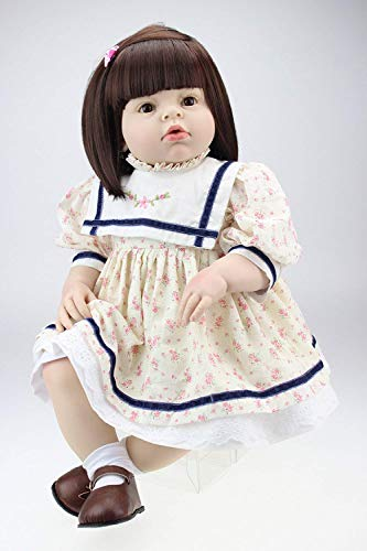 WYZQ Muecas Reborn, muecas Reborn de 28 Pulgadas, muecas de simulacin de Silicona, Modelo de Disfraz de beb de 70 cm, Juguete para bebs Reborn, muecas nutritivas, muecas nutritivas