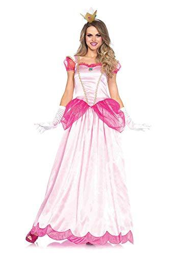 Leg Avenue 85461 - Klassische Pink Princess Kostüm, Größe Small (EUR 36)